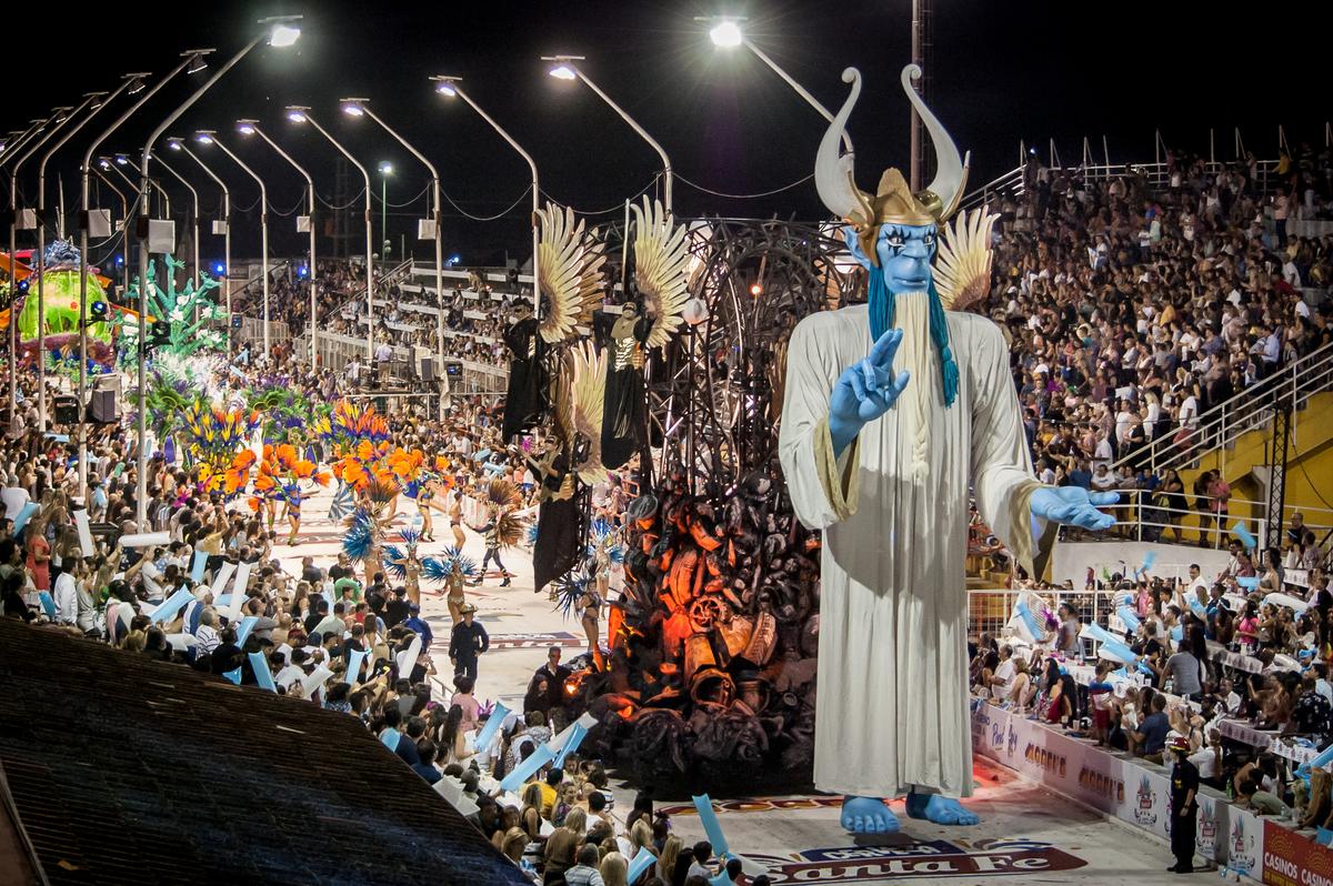 Carnaval en Argentina considerado uno de los mejores carnavales del mundo después de Río de Janeiro y Venecia