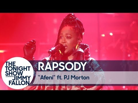 "Rapsody & PJ Morton Perform ""Afeni"" On 'The Late Night Show Starring Jimmy Fallon'"