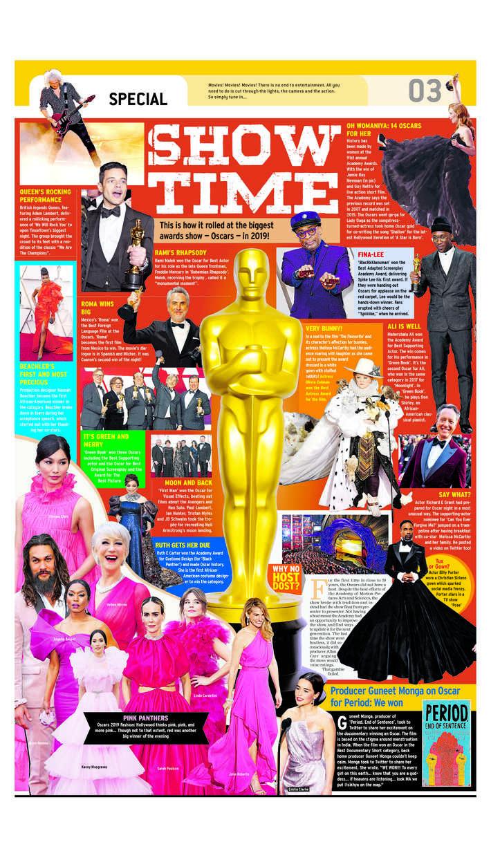 Oscar Show Time 2019