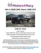 Motors4Macy 2020 GMC Sierra 1500 AT4 Raffle