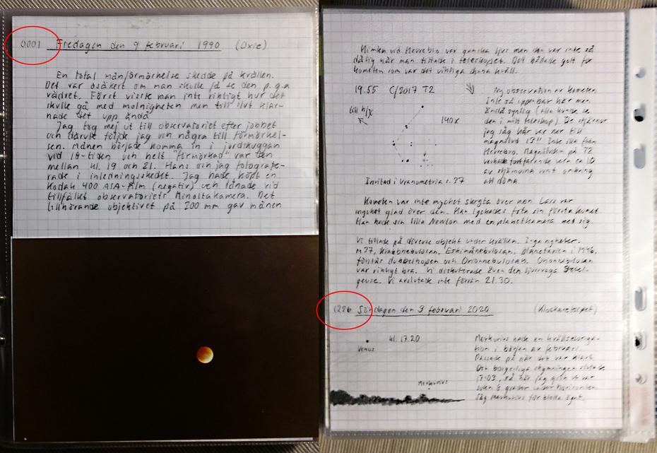 30 år som amatörastronom