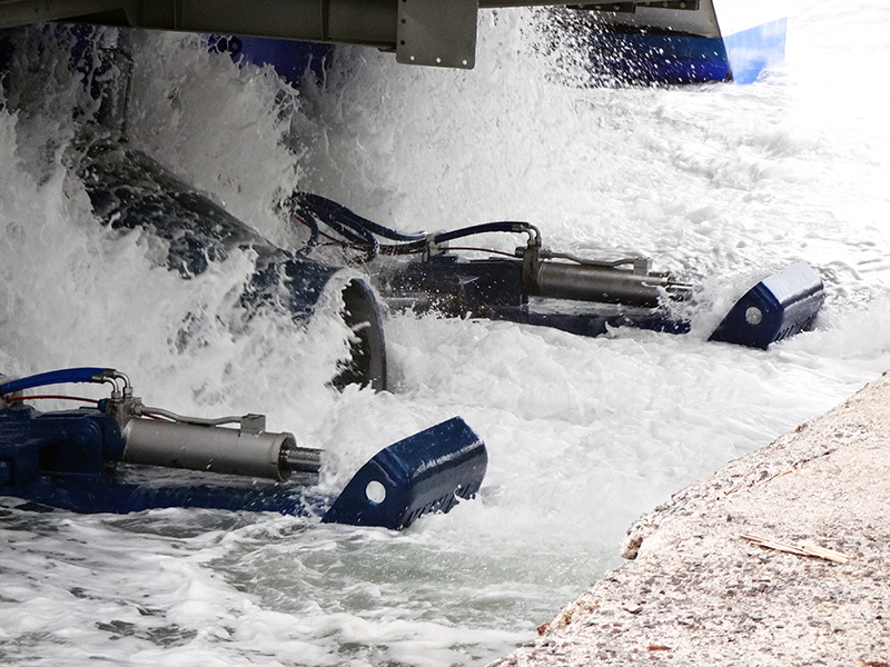 Hydraulic Cylinders used in demanding conditions