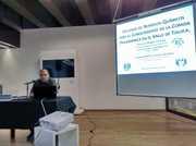 Presentación en el Metro sobre residuos químicos y comida prehispánica