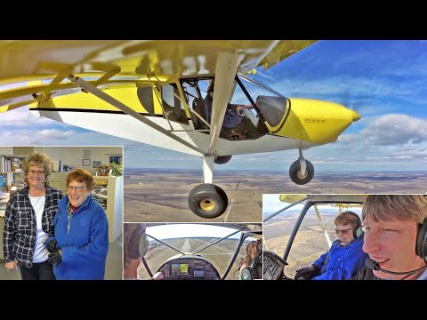 Flight with Ginger: Roger goes flying with Joyce's aunt