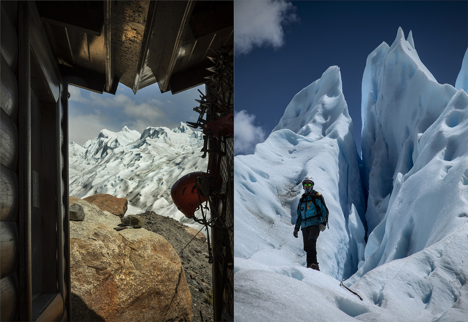 Diptych: Shack to summit