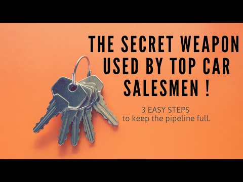 The Secret Weapon Used By Car Salesmen !