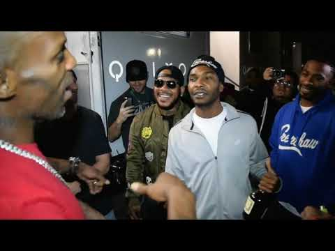 The day when DMX and Nipsey Hussle run into each other!