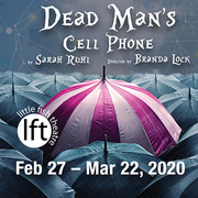 DEAD MAN'S CELL PHONE, a mysterious and mesmerizing play at Little Fish Theatre