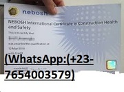 (Whatsapp-) +380-98-704-2373) Buy Biometric NEBOSH/IELTS/PTE/TOEFL/TOEIC Certificates Without Exam