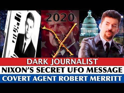 COVERT AGENT REVEALS NIXON'S SECRET UFO DISCLOSURE MESSAGE 2020 AND THE SPACE FORCE!