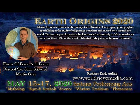 Earth Origins 2020 Martin Gray of Sacred Earth Places of Peace and Power A Group Shamanic Event .