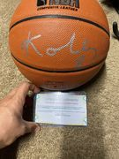 Likely Not Genuine: Kobe Bryant Signed Autographed Spalding NBA Basketball With Hologram And Coa $455