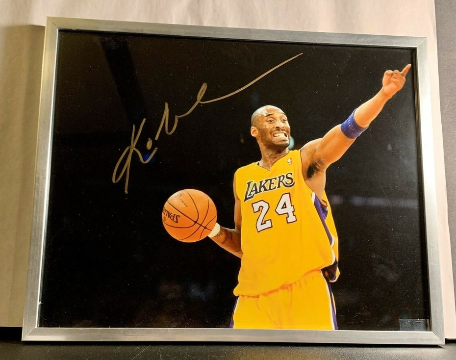 Likely Not Genuine: Kobe Bryant Signed Autographed 8x10 Photo NBA Lakers Champion MVP Beautiful COA $185