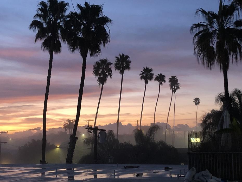Sunrise at Pt. Fermin