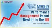 Performance Management Report Nestle,UK
