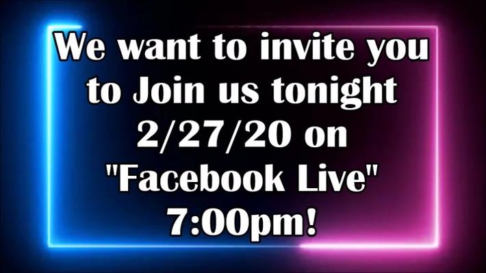 FB Live with Toni