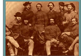 John Singleton Mosby and his Rangers - 1864