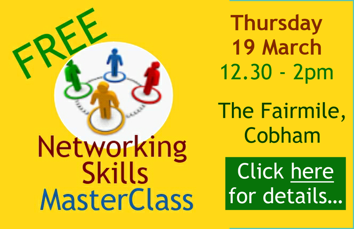 Make networking work better for your business - no meeting fee - you just buy your own food and drink as required