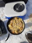 Dipper of moose stew