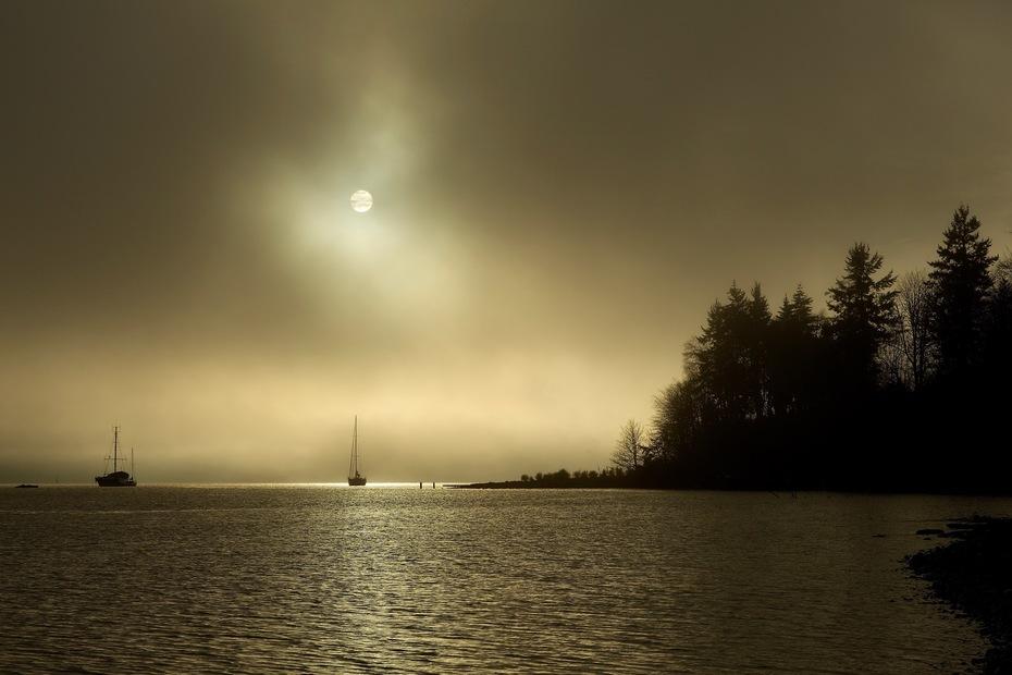 Atmospherics in Fulford Harbour