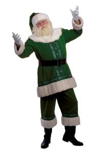 Groene Kerstman vóór duurzaamheid