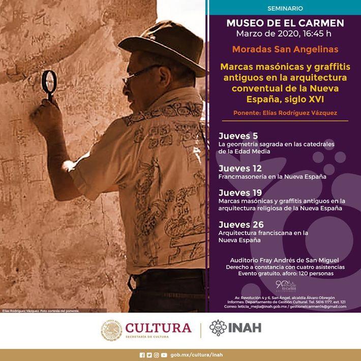 Marcas masonicas y graffitis novohispanos en Tula y Zempoala, Hidalgo, siglo XVI.