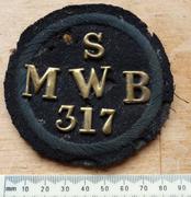 Metropolitan Water Board Water Bailiff's tunic badge.