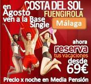 PLAYA Y FERIA DE MALAGA 2013 :: desde 69€ en Media Pensión :: Hotel 4* :: 1ª Linea de Playa :: Costa del Sol :: Agosto 2013
