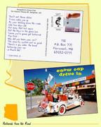 Faux Postcard with Faux Postage - Arizona