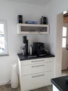 Kaffeeecke eingerichtet