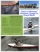 Canal Dock Summer Rowing Camps
