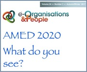 AMED 2020 and beyond: stop, start, continue?  Part 1