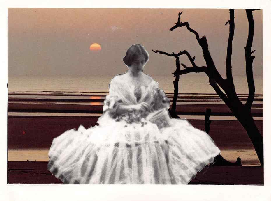 Altered Postcard 3