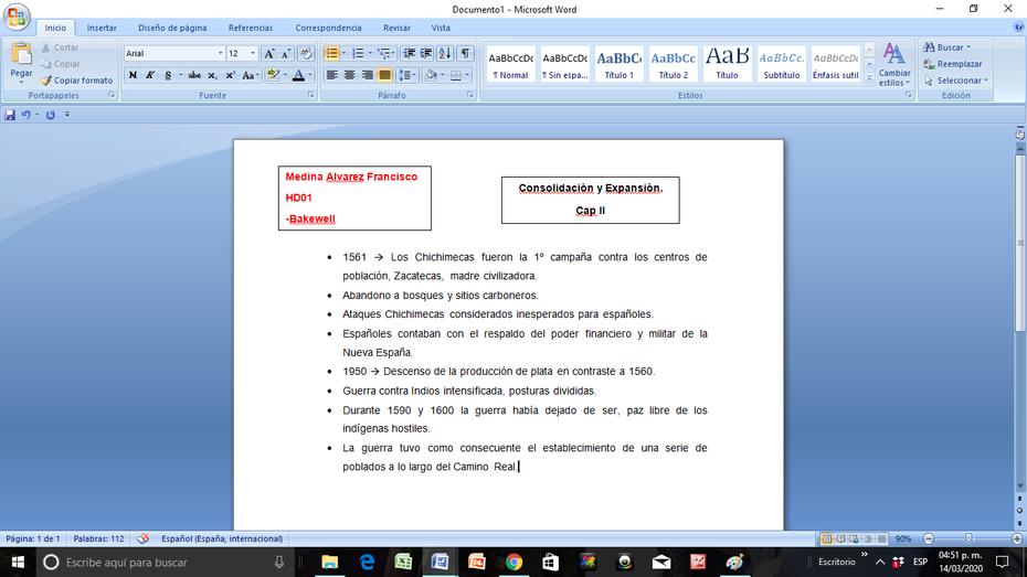 Consolidaciòn y expansiòn. Cap 2