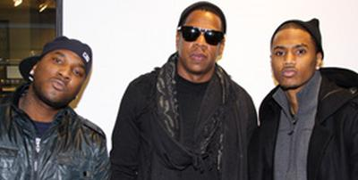 New Supergroup Mob Squad Consisting Of Jay Z Young Jeezy Trey Songz Working On Material While On Tour Paperchaserdotcom