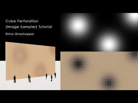 Cube Perforation Pattern (Image sampler)