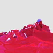 Mesh Particle Attractor