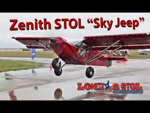 "Short take-offs and landings: Zenith STOL ""Sky Jeep"""