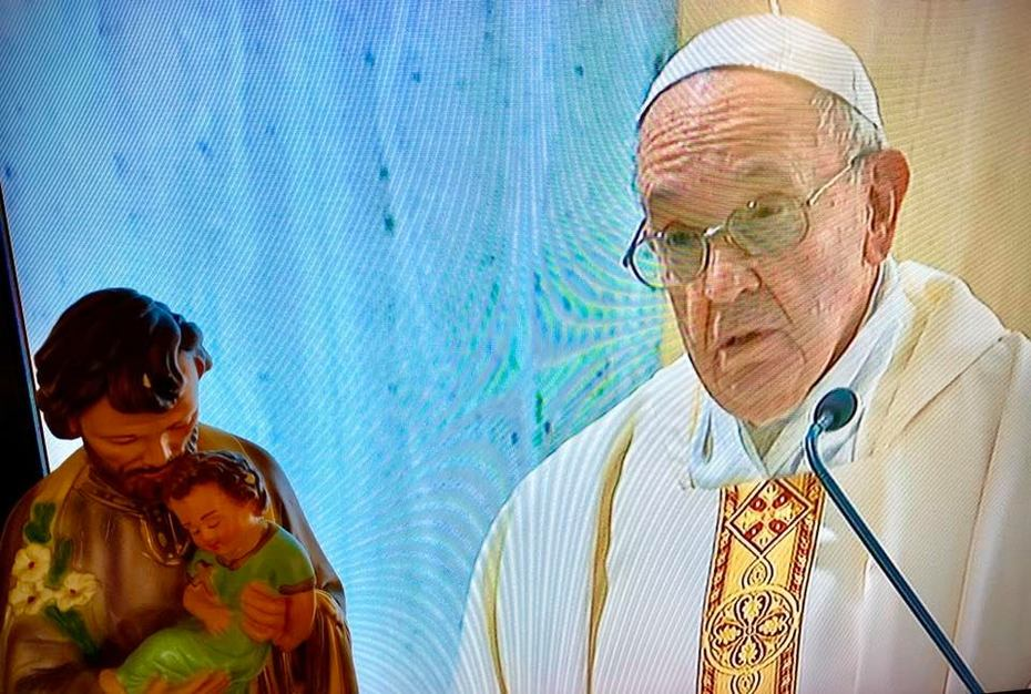 19 Marzo 2020 - Papa Francesco dall'omelia dell Santa Messa.