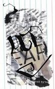 Mail art by John M. Bennett (Ohio, USA) & Jim Leftwich (Virginia, USA)