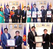 Ambassador Ung Sean Patron to Indo Cambodia Cultural Forum