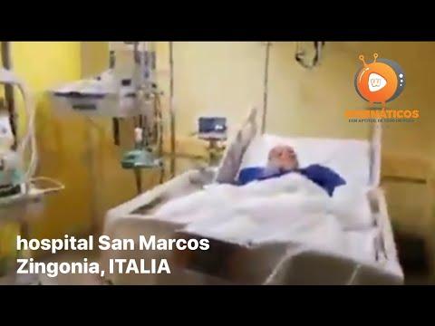 CORONAVIRUS: LAS IMÁGENES DEL HOSPITAL SAN MARCOS ZINGONIA, CERCANO A BERGAMO EN ITALIA QUE CONMUEVEN AL MUNDO