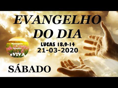 EVANGELHO DO DIA 21/03/2020 Narrado e Comentado - LITURGIA DIÁRIA - HOMILIA DIARIA HOJE