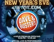 Dave Busters   New Years Eve Party All Ages