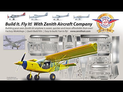 Zenith Aircraft Update: Build it and fly in during the coronavirus pandemic