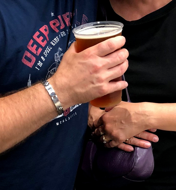Blue Point Brewing Company Toasted Lager at Deep Purple concert. Darien Lake Ny. 9-5-2018