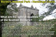 Hermitage Castle What are the special qualities of the Scottish Borders
