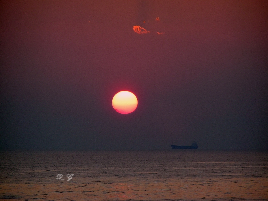 Ηλιοβασίλεμα στο Αιγαίο!