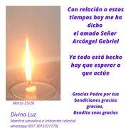 Mensaje amado Señor Arcángel Gabriel