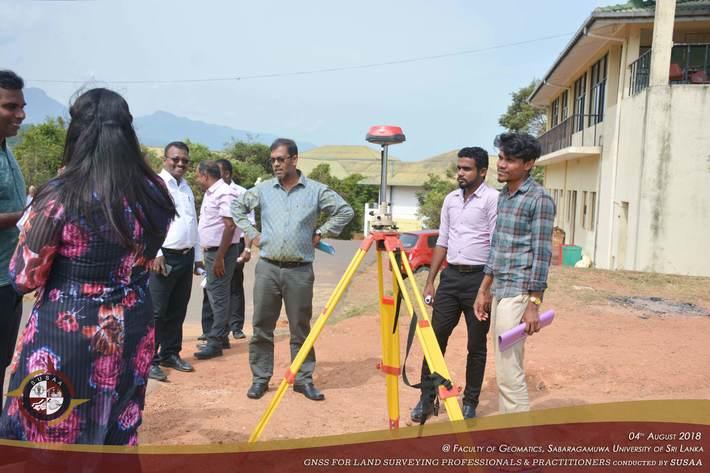 GNSS Surveying at Sri Lanka